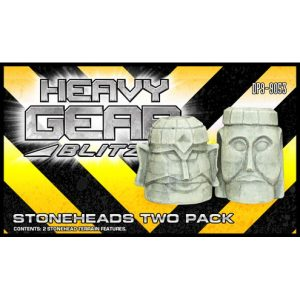 Stone Heads Two Pack