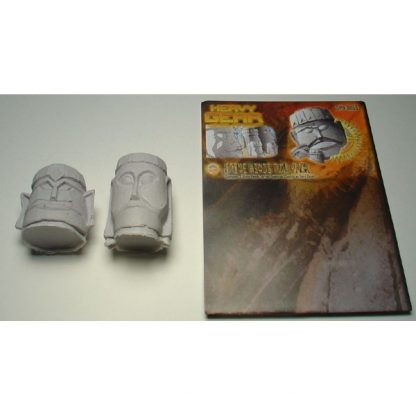 Stone Heads Two Pack contents