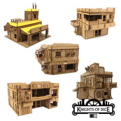 Neo Sentry Easy District Buildings Bundle