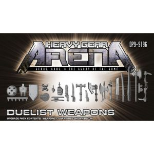 Heavy Gear Arena Duelist Weapons Upgrade Pack