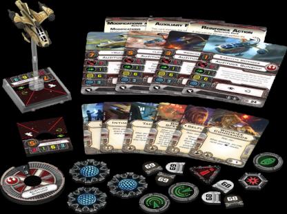 Auzituck Gunship Expansion Pack Contents