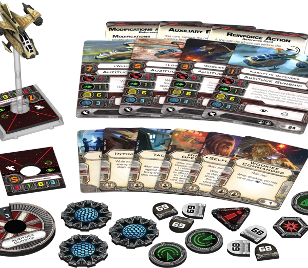 Auzituck Gunship Expansion Pack Contents