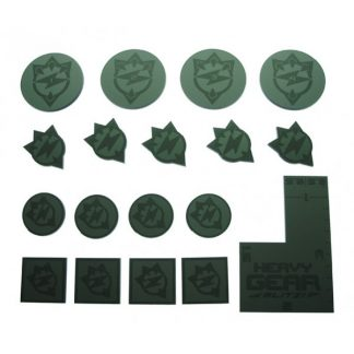 Black Talon Commander Tokens Pack