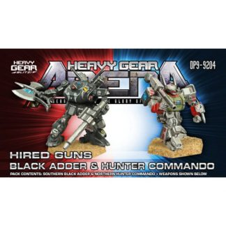 Hired Guns Black Adder & Hunter Commando Pack