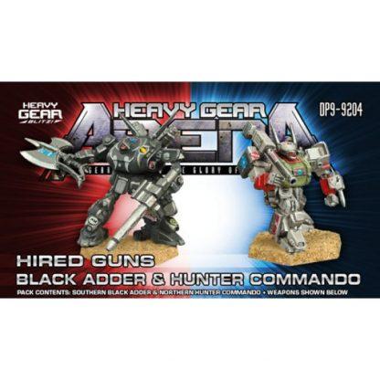 Hired Guns Black Adder & Hunter Commando Pack