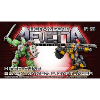 Hired Guns Black Mamba & DartJager Pack