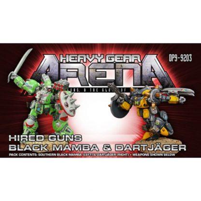 Hired Guns Black Mamba & DartJager Pack