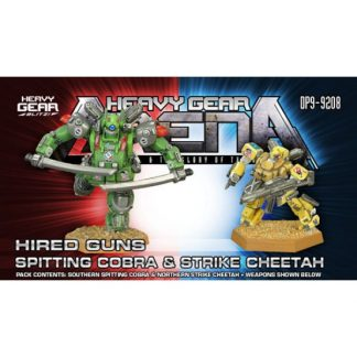 Hired Guns Spitting Cobra & Strike Cheetah Pack