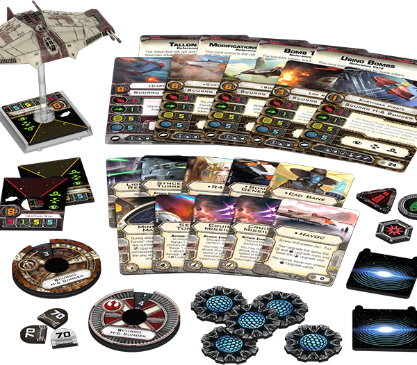 Scurrg H-6 Bomber Expansion Pack Contents