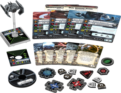 TIE Aggressor Expansion Pack Contents