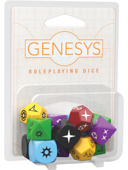 Genesys Roleplaying Dice
