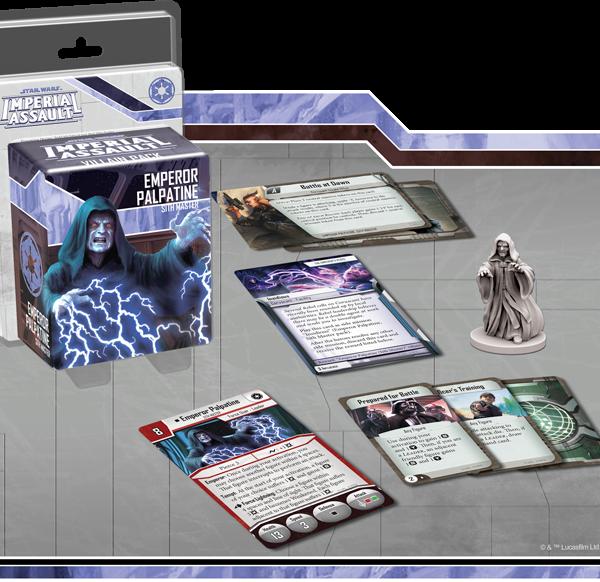 Emperor Palpatine Villain Pack contents