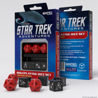 Command Red Custom Dice