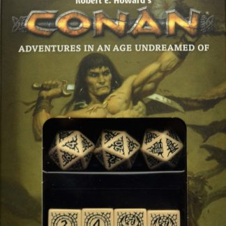 Conan Player's Dice Set