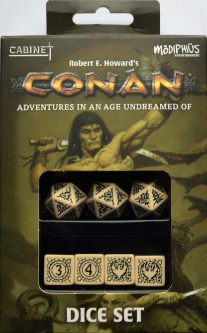 Conan Player's Dice Set