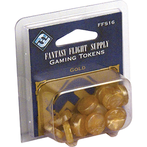 Gold Gaming Tokens