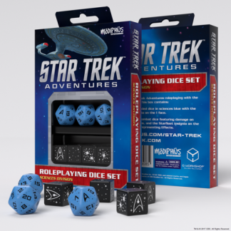 Sciences Blue Custom Dice