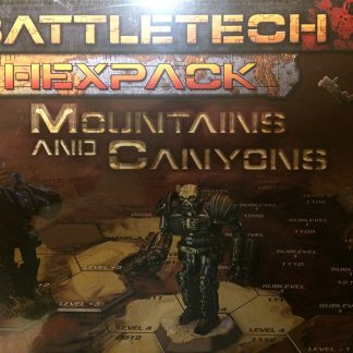 Hexpack: Mountains & Canyons