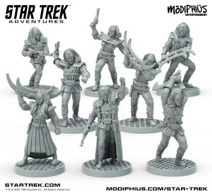 Klingon Warband Miniatures