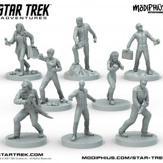 The Next Generation Bridge Crew Miniatures