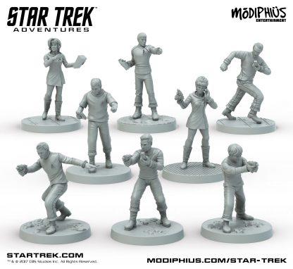 The Original Series Bridge Crew Miniatures