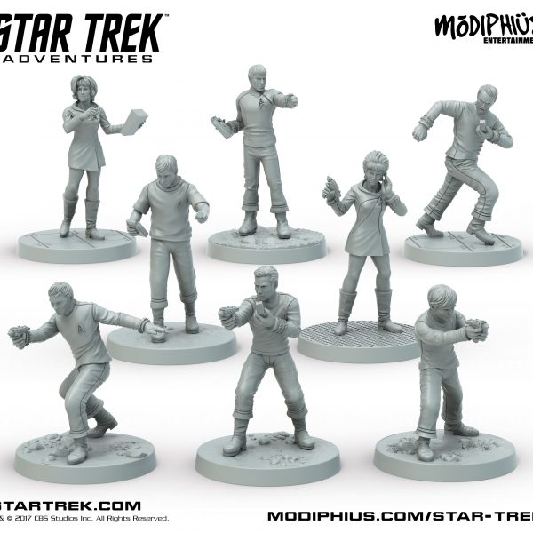 The Original Series Bridge Crew Miniatures
