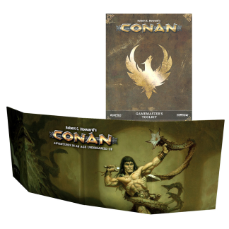 Conan GM Screen & Gamemaster Toolkit