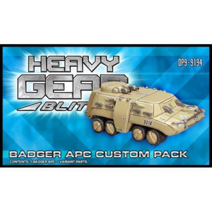 Badger APC Custom Pack