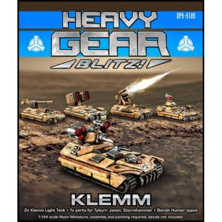 Klemm Light Tank Custom Two Pack