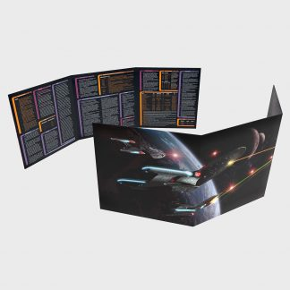 Star Trek Adventures Gamemaster Toolkit: Screen and Reference Sheets