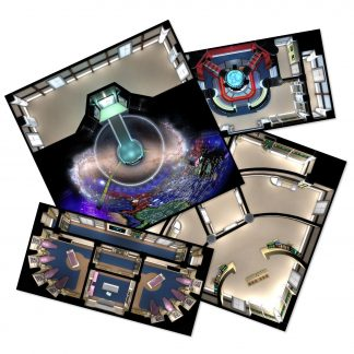 Star Trek Adventures The Next Generation Starfleet Deck Tiles