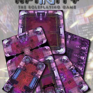 Infinity: Combined Army Geomorphic Tile Set