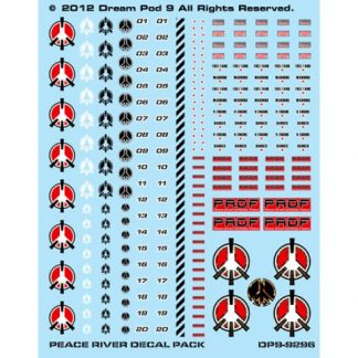 Peace River Decals Sheet