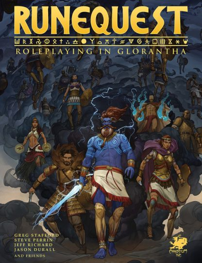 Runequest – Roleplaying in Glorantha