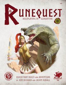 Roleplaying in Glorantha Quick Start: RuneQuest RPG