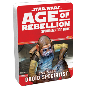 Droid Specialist Specialisation Deck for Engineers