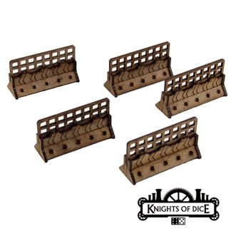Gaslands Crash Barriers