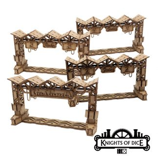 Gaslands Race Gates – Set of 4