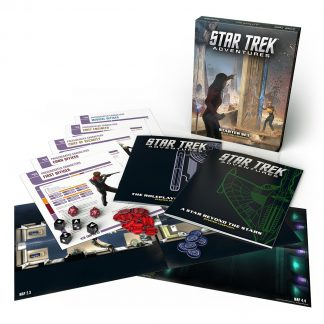 Star Trek Adventures Starter Set contents