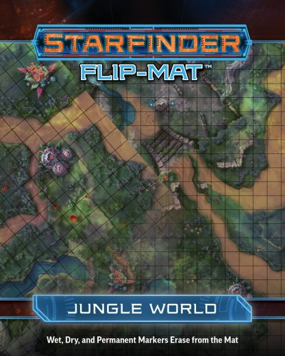 Starfinder Flip-Mat: Jungle World