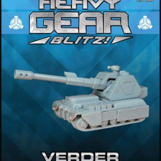 Verder Self-Propelled Artillery Tank
