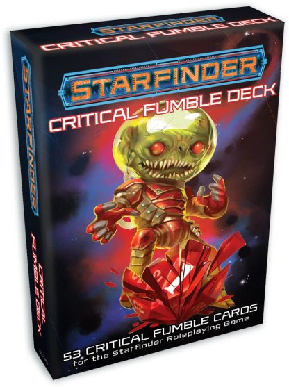 Starfinder Critical Fumble Cards