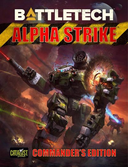 Battletech Alpha Strike: Commander's Edition