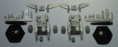 HC-3A Hovercar Two Pack contents