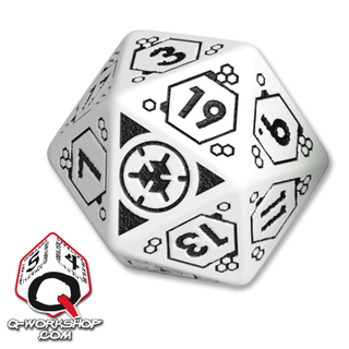 ALEPH faction D20 | Aleph Infinity RPG Dice Set