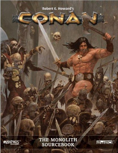The Monolith Sourcebook | Conan RPG & Boardgame