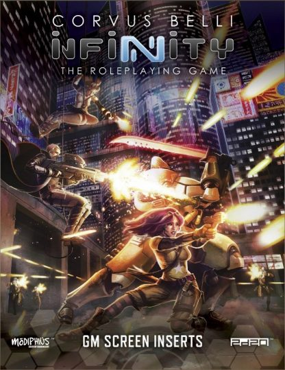 Infinity GM Screen + Code: Infinity
