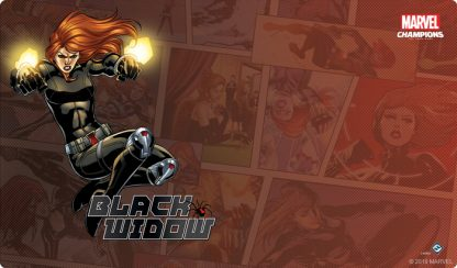 Black Widow Game Mat   Marvel Champions