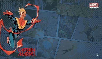 Captain Marvel Game Mat | Marvel Champions