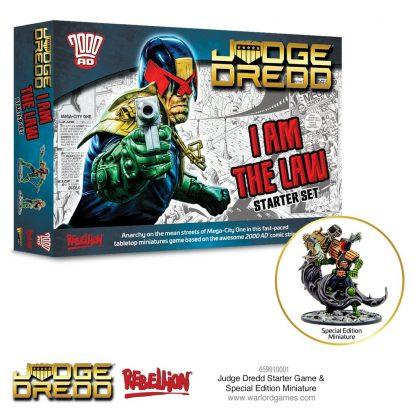 Judge Dredd Starter Set | I am the law